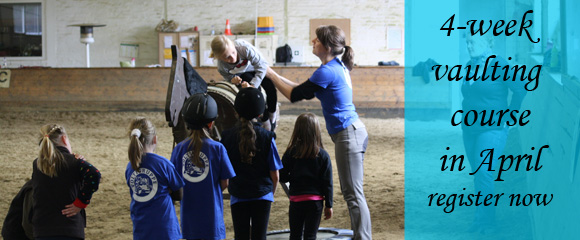 Vaulting Course in April